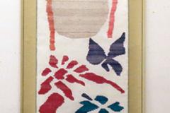 浅野智子 織 「花鳥風月」