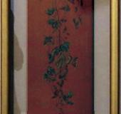 北平真由美 日本画 「夏と秋の間」