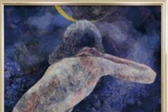高橋裕美子 日本画 「月光」