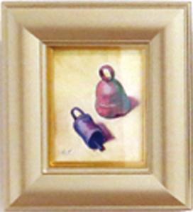 高須悦子 油彩画 「鈴3」