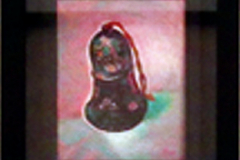 高須悦子 油彩画 「鈴4」